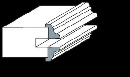 Standard Raised Molding - SM