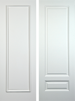 One & Two Panel Doors